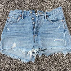 AGOLDE Parker Shorts Size 25